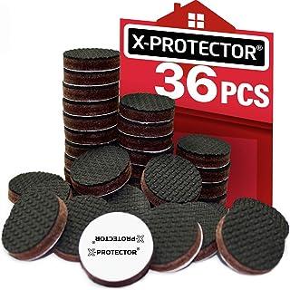 X-Protector Grippers Premium 36 pcs 1 Best Non Slip Pads Rubber Feet-Furniture Floor..