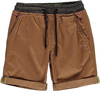 No Fear Ribbed Waist Chino Shorts Juniors Skate Clothing Short Pants Bottoms