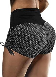 GOSOPIN Women High Waist Yoga Short Premium Tummy Control Bike Shorts Running Athletic Spandex Leggings