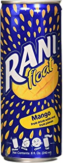 Rani Float Mango Fruit Drink With Real Fruit Pieces in Can, 240ml - Pack of 24