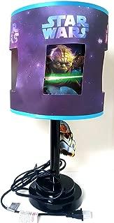 Disney Star Wars Die Cut Table Lamp, Blue