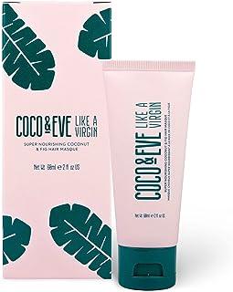 Coco & Eve Like a Virgin - Maschera per Capelli al Cocco e Fichi. Trattamento Capelli Danneggiati | Maschera Idratante Cap...