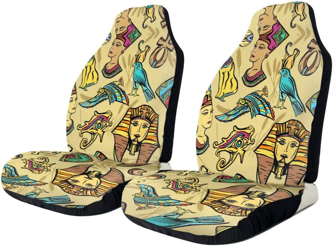 HDDCOMG Ancient Egypt Tribe Pattern Protect Now free shipping Decor sale Cover Car Seat