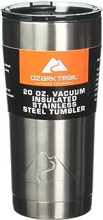 Set of 2 Ozark Trail 20-Ounce Double-Wall Vacuum-Sealed Tumblers