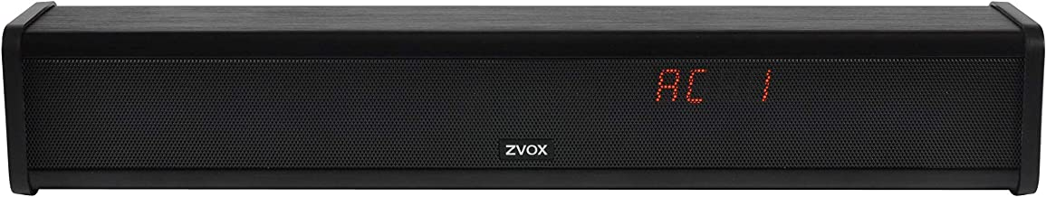 AccuVoice 201 Sound Bar TV Speaker by ZVOX with Two Levels of Voice Boost
