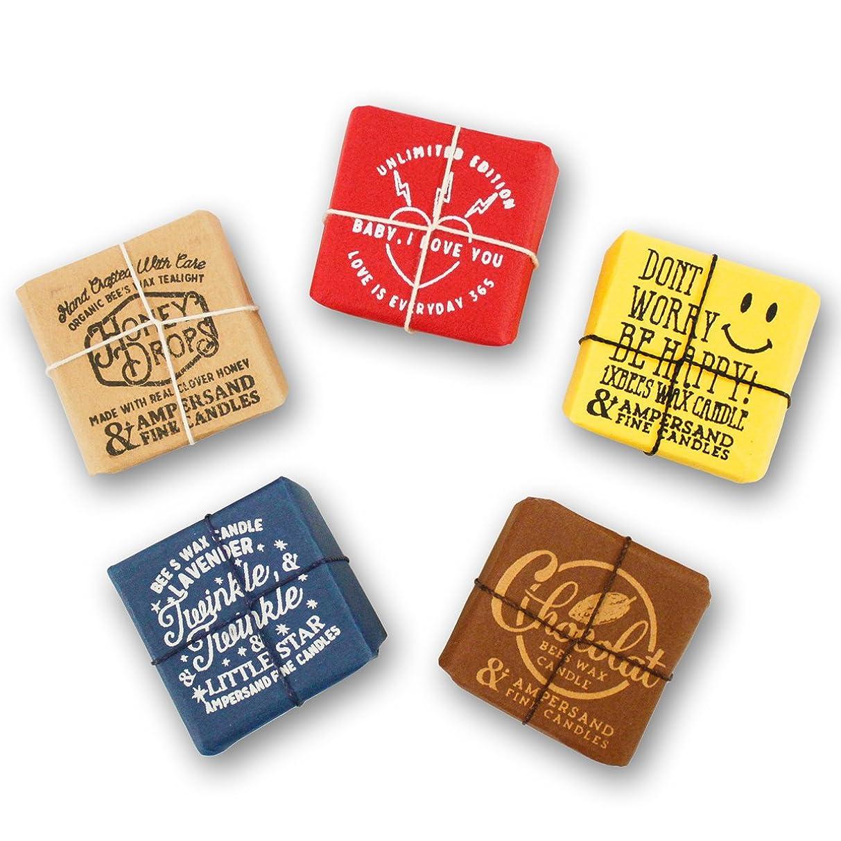 方言悩み励起Ampersand Fine Candles(アンパサンド ファイン キャンドル)キャンドル ルームフレグランス ASingle Bees [ 5type ] アロマ ギフト オーガニック OS,Chocolate
