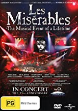 Les Miserables | 25th Anniversary Concert at the O2 | NON-USA Format | PAL | Region 4 Import - Australia