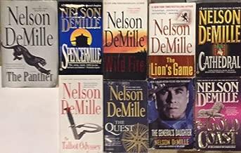 Nelson Demille Paperback Novel Collection 9 Book Set