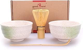 Spade Vireo Bloom Set de Utensilios de preparaci/ón de la Ceremonia de t/é Verde Matcha Chawan Bata Naoshi Chashaku Stand Japanese traditional kit. 450 ml 1 Chawan bowl Chasen