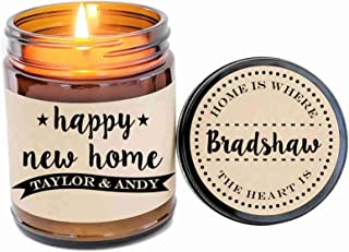 New Home Gift Housewarming Gift House Warming Gift First Home Gift Scented Candle Gift Personalized Gift for Home Moving Gift Soy Candle
