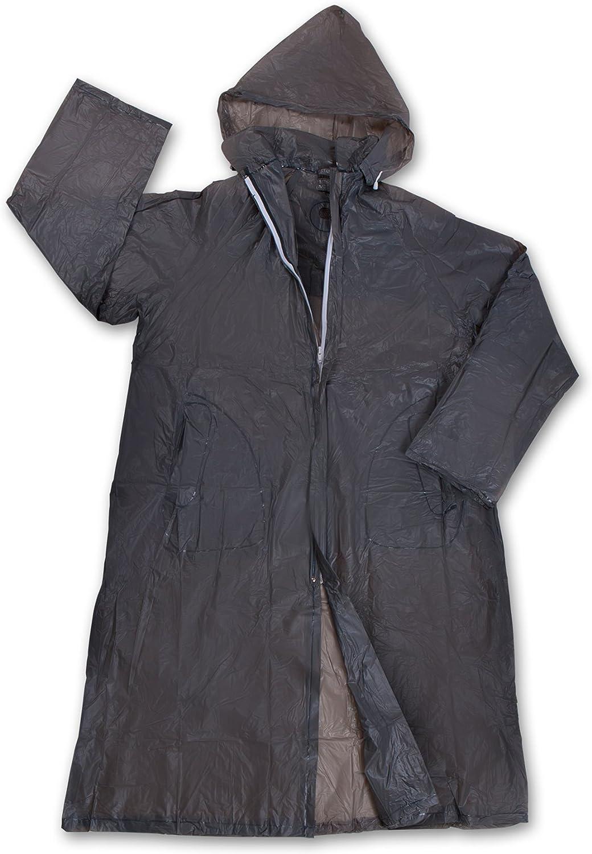 Stansport Men's Vinyl Raincoat with Hood