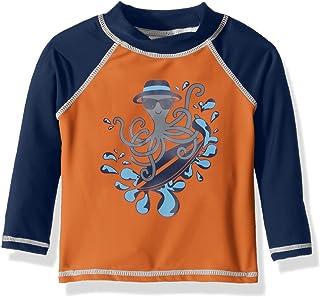 Flap Happy baby-boys Upf 50+ Graphic Rash Guard Rash Guard Shirt