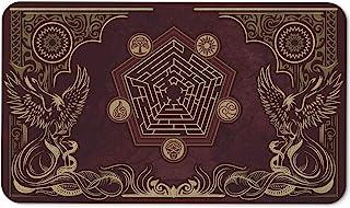 Paramint Flamewake Phoenix - MTG Playmat - Perfect for Magic The Gathering, Pokemon, YuGiOh, Anime - TCG Card Game Table M...
