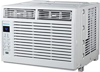 Emerson Quiet Kool 5,000 BTU 115V Window Air Conditioner with Remote Control, EARC5RD1, White
