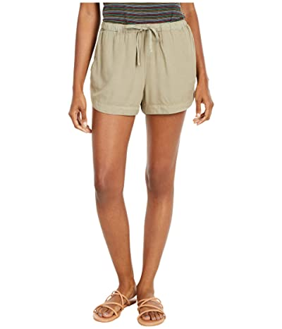 RVCA New Yume Shorts (Khaki Sage) Women