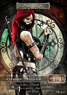 3x Assassin #3 Custom Altered Tokens Khans of Tarkir (for Vraska, the Unseen)