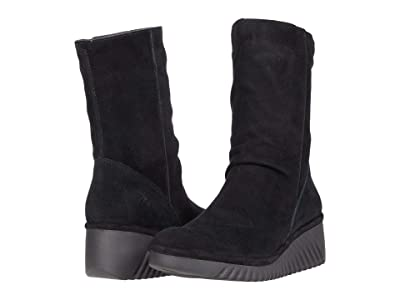FLY LONDON LEDE228FLY (Black Silky Leather) Women