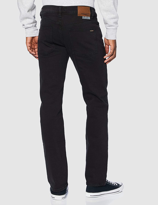Volcom Jeans Solver Denim Homme Ink Black