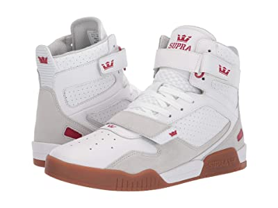 Supra Breaker (White/Rose/Gum) Men