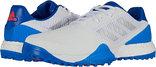 Footwear White/Glory Blue/Red