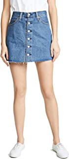 Levi's Women's Button Front Miniskirt