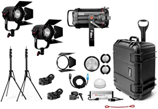 Fiilex X312 Gaffer's Kit, 1 x Q500-DC, 2 x P360 Pro Plus LED Lighting Kit