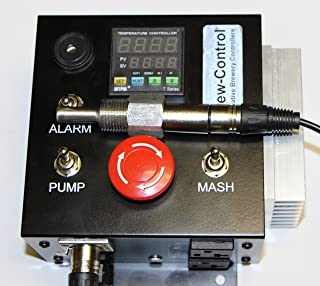 240v Electric Mash Tun / RIMS (Recirculating Infusion Mash System) Tube Controller with 4 Prong Power Plug