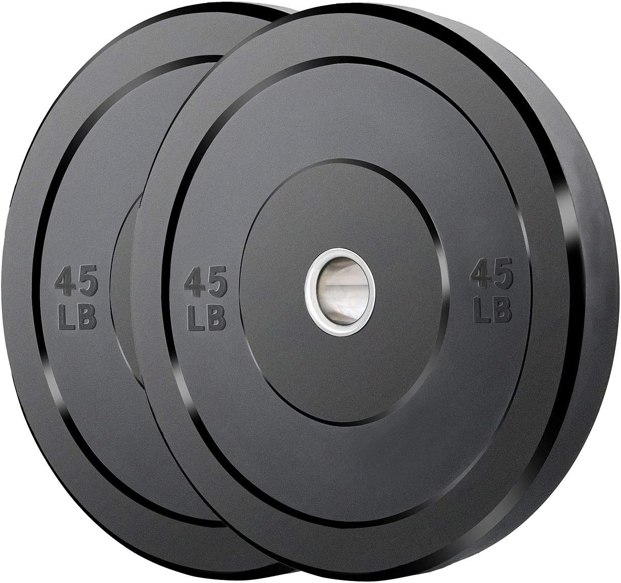 Bumper Excellent Plates 2-Inch Olympic Training for Las Vegas Mall Weight Strength