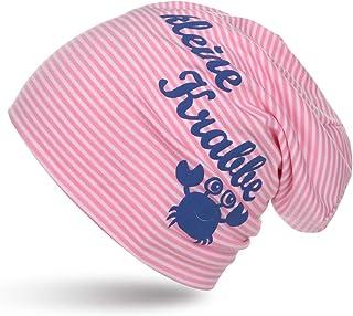 Sonia Originelli Kleinkind Beanie Mütze Baby Kleine Krabbe Maritim Streifen