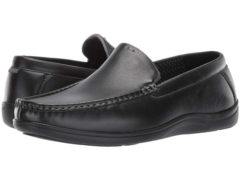 Nunn Bush Brentwood Moc Toe Venetian Slip-On (Black) Men
