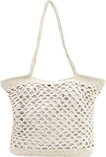 MEGAUK Hot Summer Beach Bag Handmade Straw Shoulder Bag Casual Summer Beach Tote Rattan Bags Weaving Tote Bag