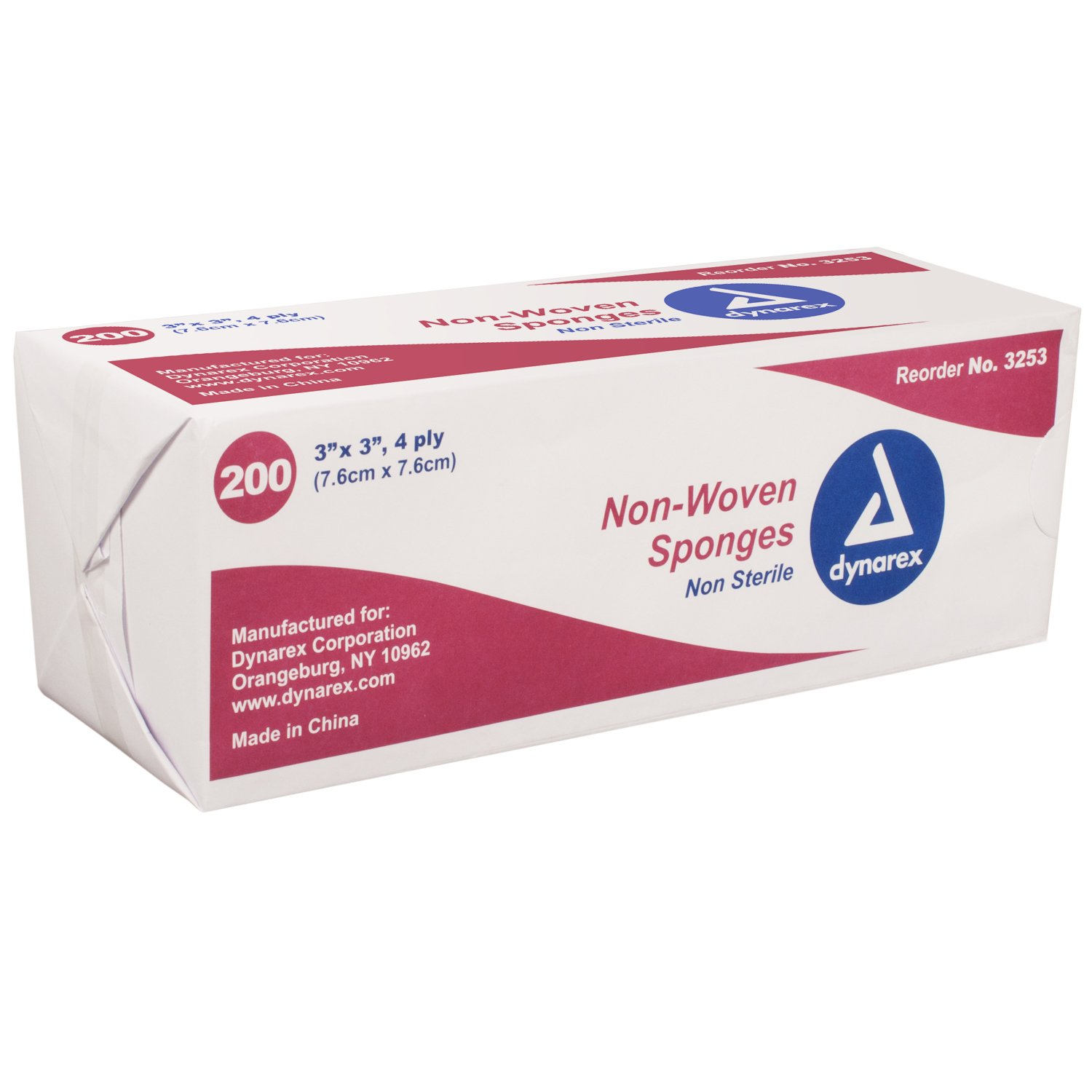 Gauze Non- Woven Sponges Non-Sterile 67% OFF of fixed price - 200 in Ply Branded goods 4 3 X