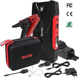 JUMTOP Booster Batterie-2000A Peak 14400mah Portable Car Jump Starter- D/émarrage de Voiture -UL Certified-Booster de Automatique Chargeur de Banque t/él/éphone with Qc3.0 8.0L Gas//6.0L Diesel Engine