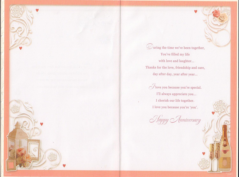 Marido aniversario tarjeta – con amor a mi esposo en nuestro ...