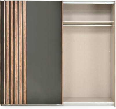 Christian Wardrobe, 2 puertas correderas: Amazon.es: Hogar