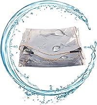 PENGFEI transparante dekzeil Heavy Duty, PVC transparante waterdichte doek, tuinmeubilair, tuinbescherming, regendichte tr...