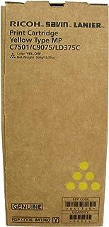 Ricoh Aficio MPC6501SP Yellow Toner Cartridge (OEM) 21,600 Pages