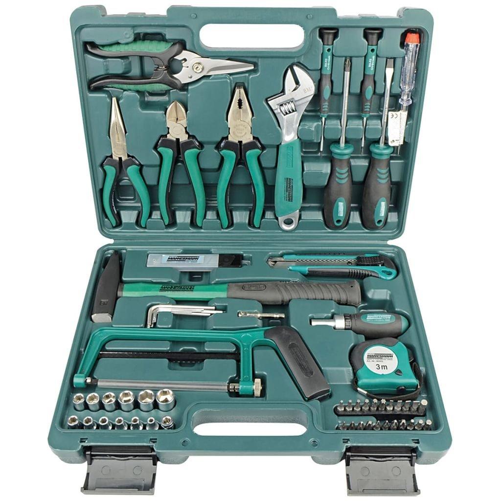 Brüder Mannesmann Werkzeuge 74 piezas Juego de herramientas, 1 pieza, m29074: Amazon.es: Bricolaje y herramientas