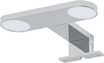 Tiger Yaro LED Spiegelverlichting, Metaal, Chroom, 17,5 x 3,5 x 13 Cm