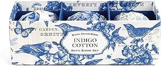 Michel Design Works Small Bath Bomb Set, Indigo Cotton