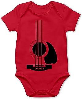 Shirtracer Strampler Motive - Gitarren Body - Baby Body Kurzarm für Jungen und Mädchen