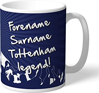Tottenham Hotspur Official Personalized FC Legend Mug - Free Personalisation