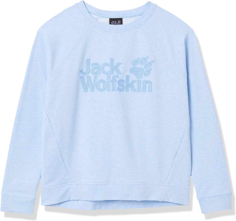 Jack Wolfskin Women's Sweatshirt W Dealing full price reduction Factory outlet Logo
