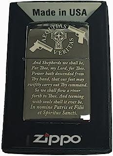 Boondocks Saints Prayer Zippo Lighter Black Ice.