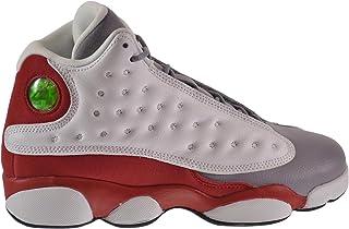 74d1a3c79c76b6 Jordan Air 13 Retro Grey Toe BG Big Kids Shoes White Black-True Red