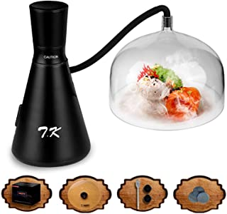 TMKEFFC Smoking Gun Food Smoker Tools Set, Portable Hand-held Smoke Infuser for Cocktails Drinks,...