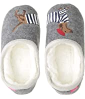 Slip-On Felt Mule with Applique Design (Toddler/Little Kid)
