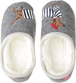 Slip-On Felt Mule with Applique Design (Toddler/Little Kid)
