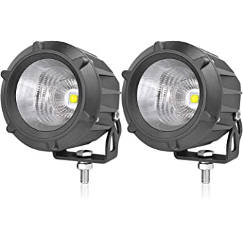 AKD Part LED Pods, 3.5 inch 50W LED Driving Lights Motorcycle Off Road Work Lights Round LED Combo Lights Motor LED Pods Lights Fog Lamp for Off Road Vehicle