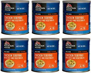 Mountain House Chicken Teriyaki #10 Can Freeze Dried Food - 6 Cans Per Case NEW!